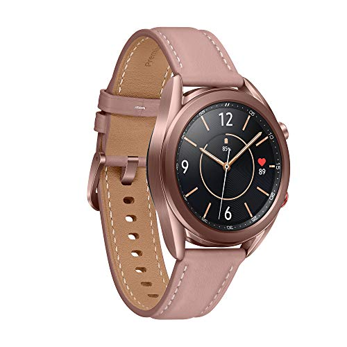 Samsung Galaxy Watch3 Stainless Steel 41 mm Bluetooth Smart Watch Mystic Bronze (UK Version) 3