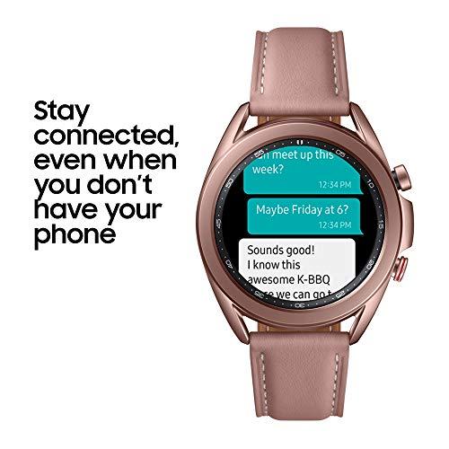 Samsung Galaxy Watch3 Stainless Steel 41 mm Bluetooth Smart Watch Mystic Bronze (UK Version) 6