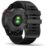 Garmin Fenix 6 Pro Solar Edition Black Rubber Strap Watch 010-02410-15 22
