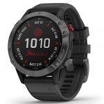 Garmin Fenix 6 Pro Solar Edition Black Rubber Strap Watch 010-02410-15 21