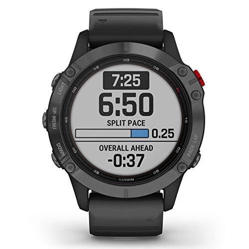 Garmin Fenix 6 Pro Solar Edition Black Rubber Strap Watch 010-02410-15 7