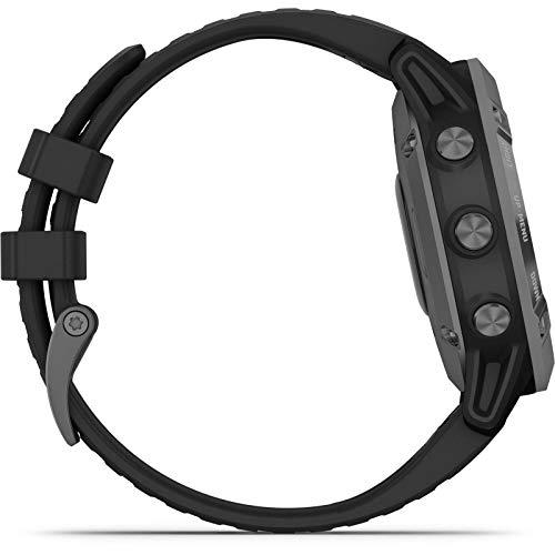Garmin Fenix 6 Pro Solar Edition Black Rubber Strap Watch 010-02410-15 10