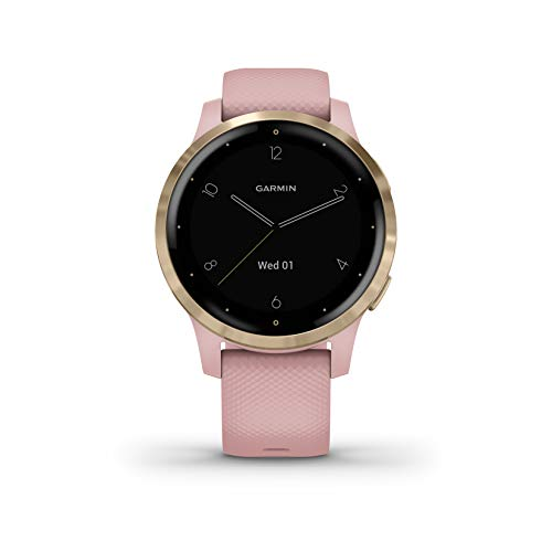 Garmin Vívoactive 4S, Smaller-Sized GPS Smartwatch, Features Music, Body Energy Monitoring, Animated Workouts, Pulse Ox… 6