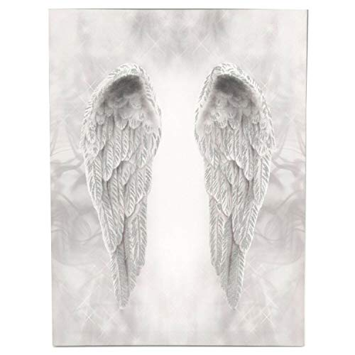 Online Street Glitter Angel Wings Canvas Wall Art Hanging Picture Home Decoration Print Plaque 1