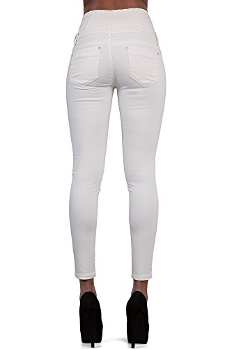 Glook Womens High Waist Skinny Slim Fit Stretchy Denim Butt Lifting Jeans Pants 3