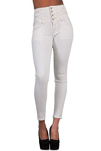 Glook Womens High Waist Skinny Slim Fit Stretchy Denim Butt Lifting Jeans Pants 5