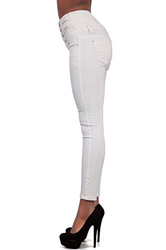 Glook Womens High Waist Skinny Slim Fit Stretchy Denim Butt Lifting Jeans Pants 6