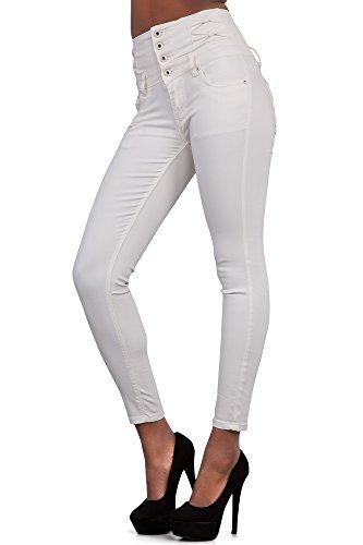 Glook Womens High Waist Skinny Slim Fit Stretchy Denim Butt Lifting Jeans Pants 7