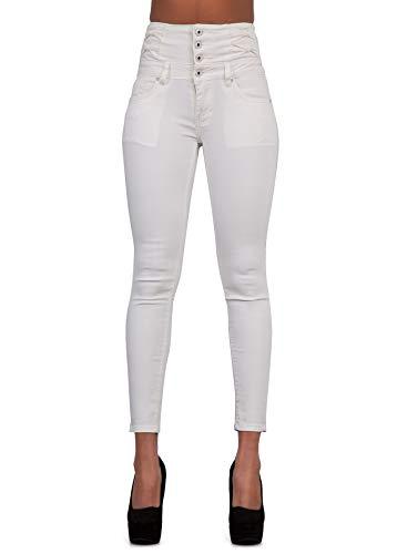 Glook Womens High Waist Skinny Slim Fit Stretchy Denim Butt Lifting Jeans Pants 1