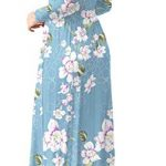 HAOMEILI Women's Casual Long/Short Sleeve Maxi Dress with Pockets 13