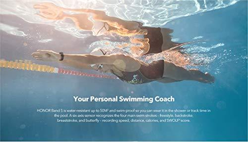 HONOR Band 5 Fitness Tracker Smart Watch IP 68 Waterproof Activity Tracker Watch Men Women AMOLED Screen Blood Oxygen… 3