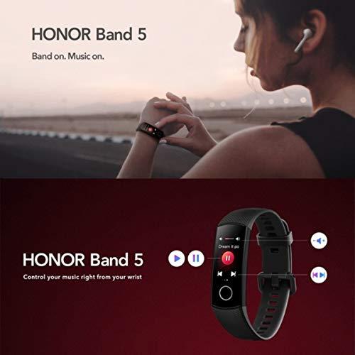 HONOR Band 5 Fitness Tracker Smart Watch IP 68 Waterproof Activity Tracker Watch Men Women AMOLED Screen Blood Oxygen… 5