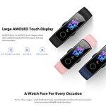 HONOR Band 5 Fitness Tracker Smart Watch IP 68 Waterproof Activity Tracker Watch Men Women AMOLED Screen Blood Oxygen… 23