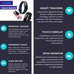 HONOR Band 5 Fitness Tracker Smart Watch IP 68 Waterproof Activity Tracker Watch Men Women AMOLED Screen Blood Oxygen… 24