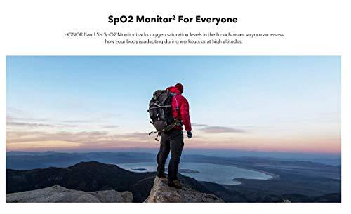 HONOR Band 5 Fitness Tracker Smart Watch IP 68 Waterproof Activity Tracker Watch Men Women AMOLED Screen Blood Oxygen… 9