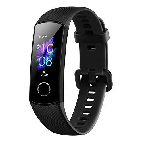 HONOR Band 5 Fitness Tracker Smart Watch IP 68 Waterproof Activity Tracker Watch Men Women AMOLED Screen Blood Oxygen… 1