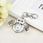 HOOUDO Clearance Watches for Womens Sale Cheap Analog Quartz Stainless Steel Gorgeous Owl Watch Clip Pocket Watch Gifts… 13