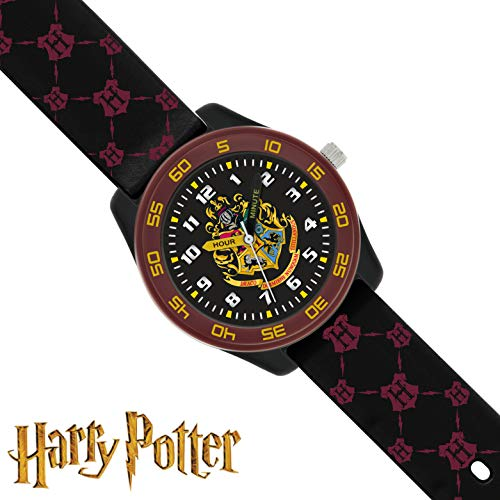 Harry Potter Unisex Kid's Analogue Analog Quartz Watch with Rubber Strap HP9050 4