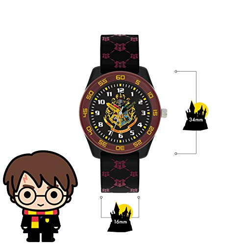 Harry Potter Unisex Kid's Analogue Analog Quartz Watch with Rubber Strap HP9050 5