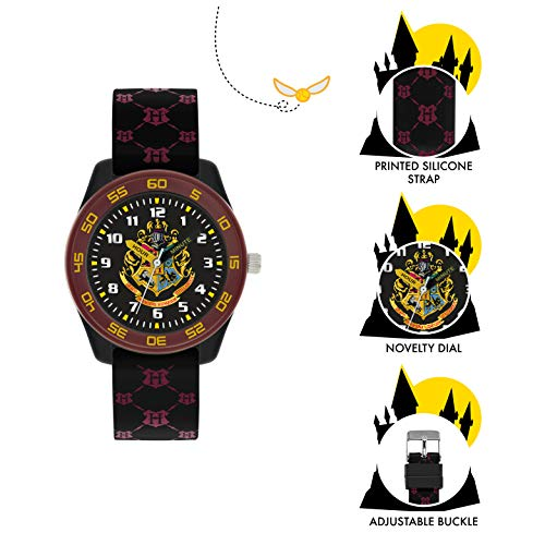 Harry Potter Unisex Kid's Analogue Analog Quartz Watch with Rubber Strap HP9050 6