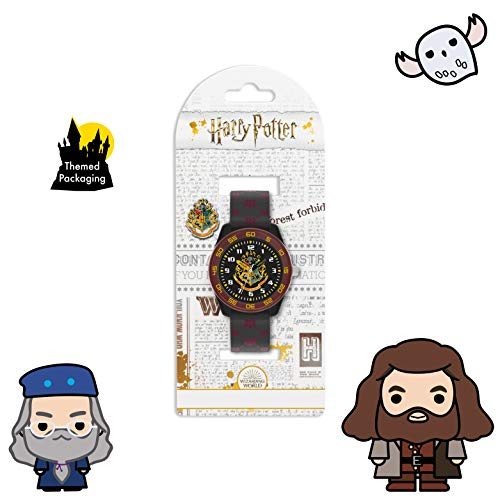 Harry Potter Unisex Kid's Analogue Analog Quartz Watch with Rubber Strap HP9050 7