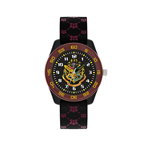 Harry Potter Unisex Kid's Analogue Analog Quartz Watch with Rubber Strap HP9050 1