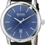 Hugo Boss Men's Analogue Quartz Watch with Leather Strap 1513400 9
