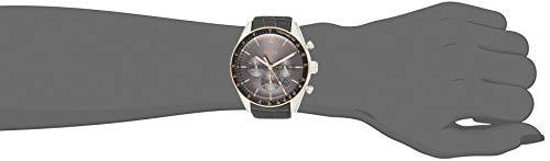 Hugo Boss Men's Chronograph Quartz Watch with Leather Strap 1513628 4