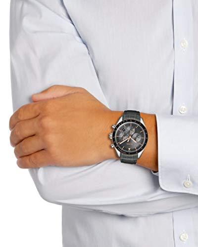 Hugo Boss Men's Chronograph Quartz Watch with Leather Strap 1513628 5