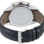 Hugo Boss Men's Chronograph Quartz Watch with Leather Strap 1513628 23