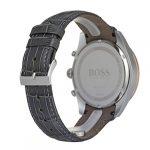 Hugo Boss Men's Chronograph Quartz Watch with Leather Strap 1513628 24