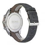 Hugo Boss Men's Chronograph Quartz Watch with Leather Strap 1513628 25