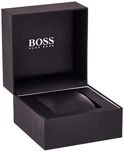 Hugo Boss Men's Chronograph Quartz Watch with Leather Strap 1513628 9