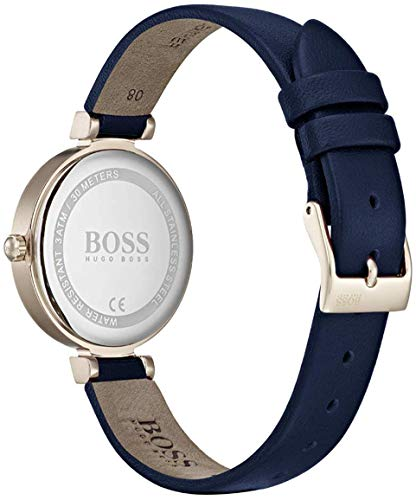 Hugo Boss Women's Analogue Classic Quartz Watch with Leather Strap 1502477 5