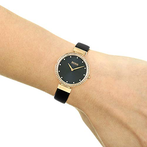 Hugo Boss Women's Analogue Classic Quartz Watch with Leather Strap 1502477 6