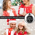 Inspirational Gift to My Daughter Never Forget That I Love You Steel Pocket Watch, Personalized Daughter Gift from Mom… 18
