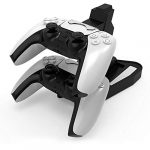 Jingmoyouxi Dual USB Charging Charger Docking Station Stand for Sony Playstation 5 PS5 Controller, PS5 Digital Edition… 11