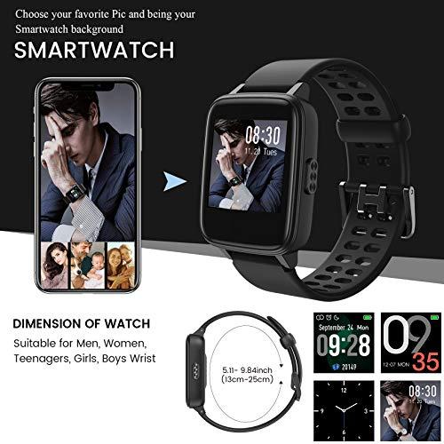 Jogfit Smart Watch Pedometer Fitness Tracker, Activity Tracker Health Sport Watch Waterproof IP68 Heart with Rate… 3