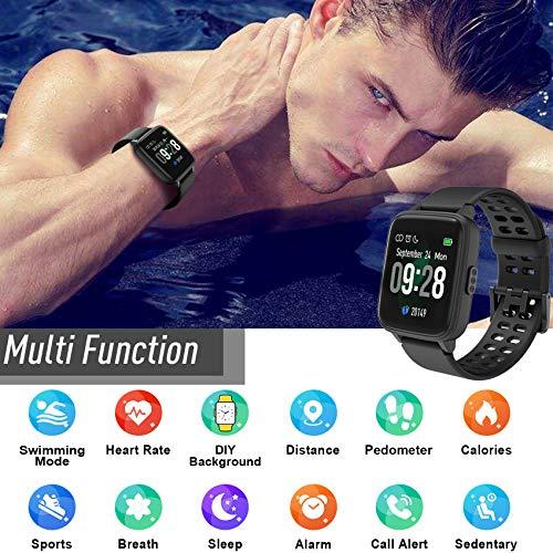 Jogfit Smart Watch Pedometer Fitness Tracker, Activity Tracker Health Sport Watch Waterproof IP68 Heart with Rate… 5
