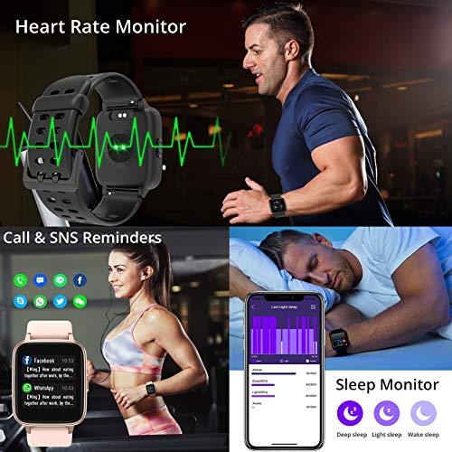 Jogfit Smart Watch Pedometer Fitness Tracker, Activity Tracker Health Sport Watch Waterproof IP68 Heart with Rate… 6