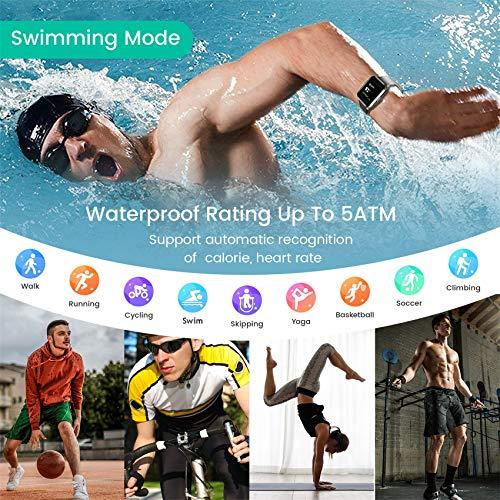Jogfit Smart Watch Pedometer Fitness Tracker, Activity Tracker Health Sport Watch Waterproof IP68 Heart with Rate… 7