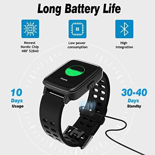 Jogfit Smart Watch Pedometer Fitness Tracker, Activity Tracker Health Sport Watch Waterproof IP68 Heart with Rate… 8