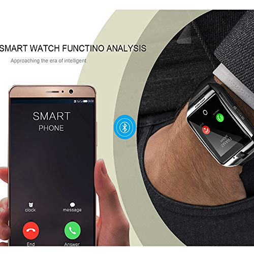 Smart Watch, KXCD Bluetooth Smart Fitness Smart Watches With Camera For Android Smartphone 1