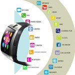 KXCD Bluetooth Smart Watches Q18 with Camera for Android Phone IOS iphone Huawei Samsung 19