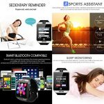 KXCD Bluetooth Smart Watches Q18 with Camera for Android Phone IOS iphone Huawei Samsung 22