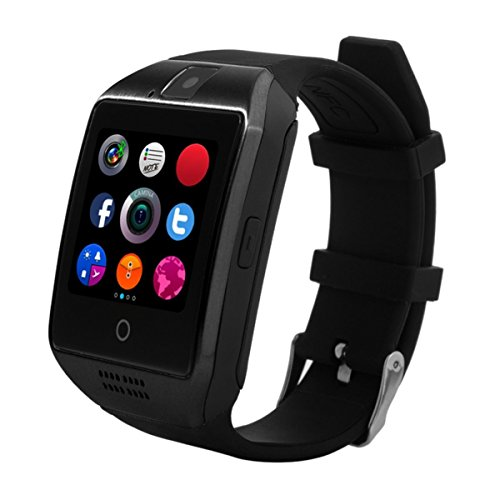 KXCD Bluetooth Smart Watches Q18 with Camera for Android Phone IOS iphone Huawei Samsung 1