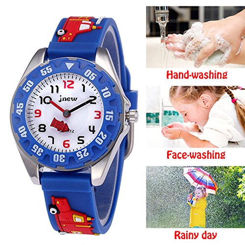 Kids Analog Watches for Boys Girls, Childrens Sports Waterproof 3D Cute Cartoon Toy Watch, Boys Girls Teaching Wrist… 6