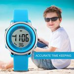 Kids Digital Sport Waterproof Watch for Girls Boys, Kid Sports Outdoor LED Electrical Watches with Luminous Alarm… 19
