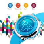 Kids Digital Sport Waterproof Watch for Girls Boys, Kid Sports Outdoor LED Electrical Watches with Luminous Alarm… 22