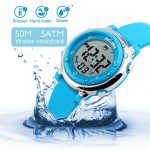 Kids Digital Sport Waterproof Watch for Girls Boys, Kid Sports Outdoor LED Electrical Watches with Luminous Alarm… 23